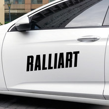 Pegatinas de vinilo decorativas para todo el cuerpo del coche, accesorios de bricolaje para Mitsubishi Ralliart Outlander 3 Lancer EX ASX L200 Colt Pajero, 4 Uds.
