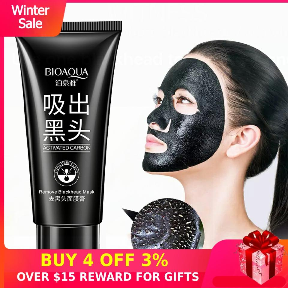 Peeling Black Head Nose Strip Mask Charcoal Face Skin Care Peel Off Blackhead Masks Dots Remove Acne Blemishes Deep Cleansing D