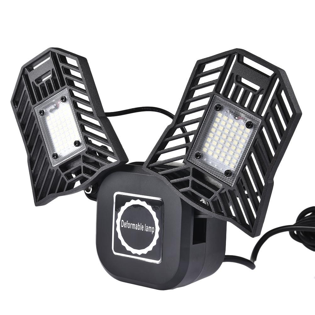 EU/US Plug Super Bright 40W UFO LED High Bay Garage Lamp CA 85-265V Waterproof IP65 Industrial Lighting For Warehouses