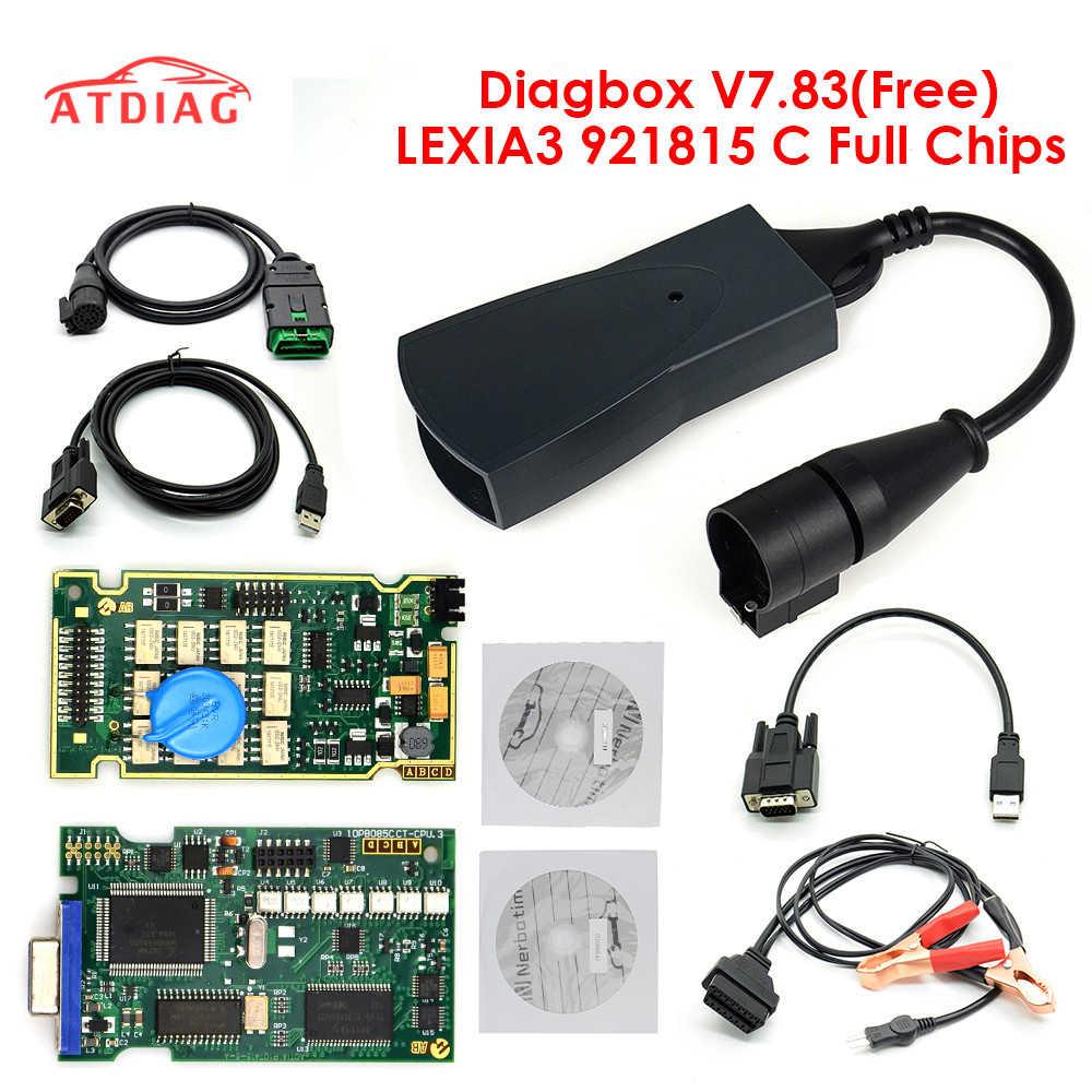 2020 Lexia3 Diagnostic Tool Lexia 3 V48 PP2000 Met Nieuwe Diagbox V7.83 LEXIA-3
