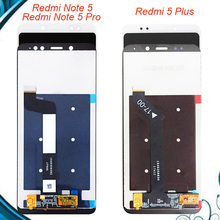 цена на For Xiaomi Redmi Note 5 / Note 5 Pro LCD Display Touch Screen Digitizer Assembly Replacement For Redmi Hongmi 5 Plus LCD Screen