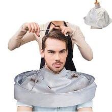Capa de corte de pelo capa de paraguas artesanal, capa de corte, delantal para afeitado del pelo, bata de peluquero, cubierta, protector de limpieza del hogar