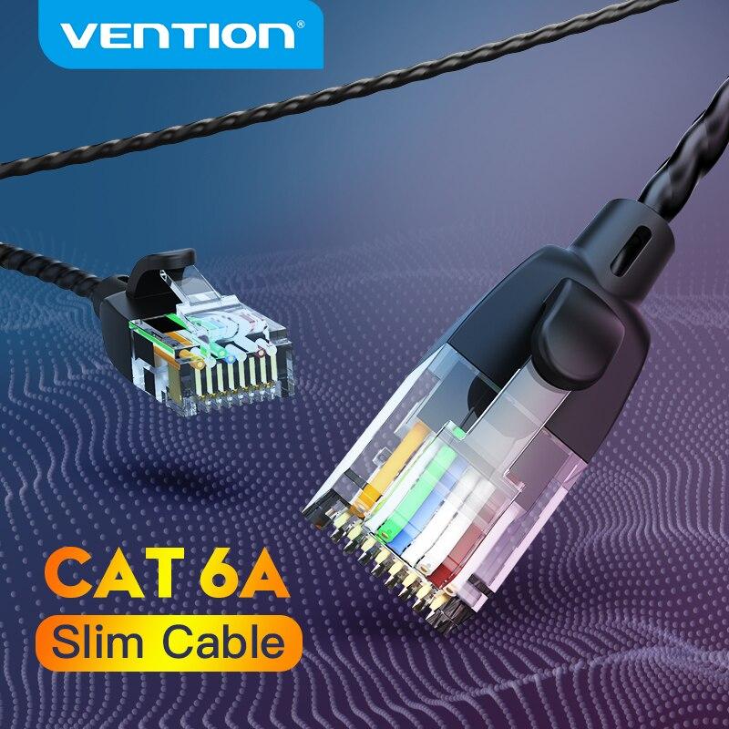 Vention Ethernet Câble Cat 6 à 10Gbps UTP RJ 45 Mince Câble De Raccordement Ethernet Cat6 UN Lan Cordon De Raccordement pour Câble Modem Ethernet RJ45