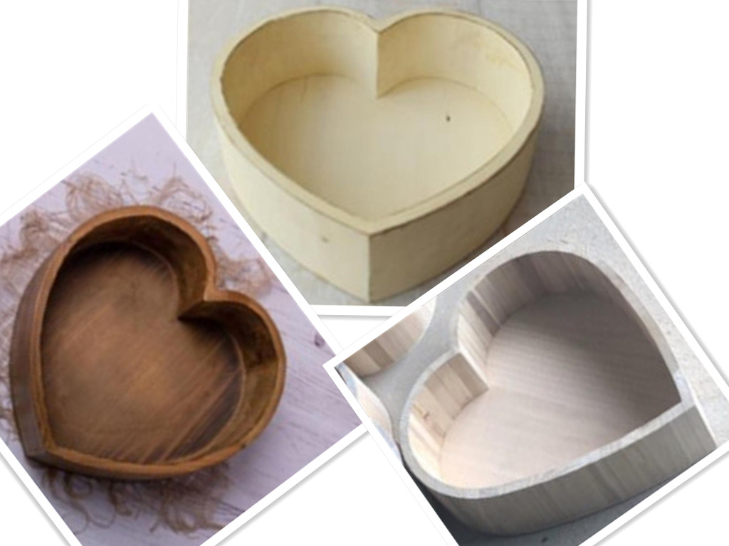 Baby Photography Props Vintage Wooden Basin Full Moon Heart Shape Box Newborn Infants Photo Posing Shooting Accessories Sofa Bed
