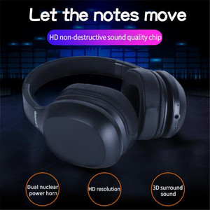 Image 2 - Original Lenovo HD100 Bluetooth 5.0 Headphone Multi mode Stereo Long Battery Wireless Headphone with Mic for PC Laptop Phone