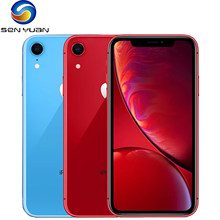 Original Apple iPhone XR xr 2942mAh RAM 3GB ROM 64GB/128GB /256G Entsperrt handy 4G LTE 6.1