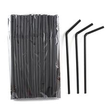 Disposable Straws Drinking Straw-Bar-Accessories Rainbow Plastic Multi-Colored Striped