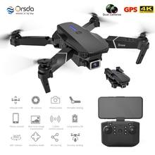 Orsda L703 Folding Drone 4K HD Wide Angle Camera WiFi Aerial Photography Remote Control Aircraft 4K Dual Camera Quadcopter Drone
