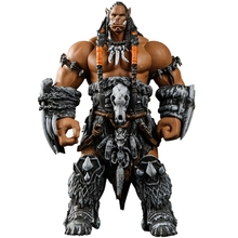 World of Warcraft WOW Orc Leader Durotan 11cm Confederated Tribes Arm Rotatable Garage Kits  Hand Do Plastic Model