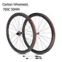 RETROSPEC R8.0pro carbon wheelset 700C 50mm clincher cycling road bike wheels