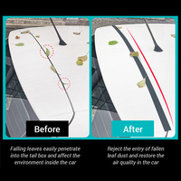 Car Rubber Sealing Strip Auto Trunk Lid Gap Seal Strip For SUV Hatchback Upper Edge Trim Automotive Dustproof Sealant Accessori