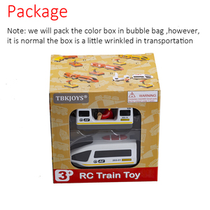 Image 3 - RC Electric Train Set With Carriage Sound and Light  Express Truck FIT Wooden Track Children Electric Toy Kids Toys