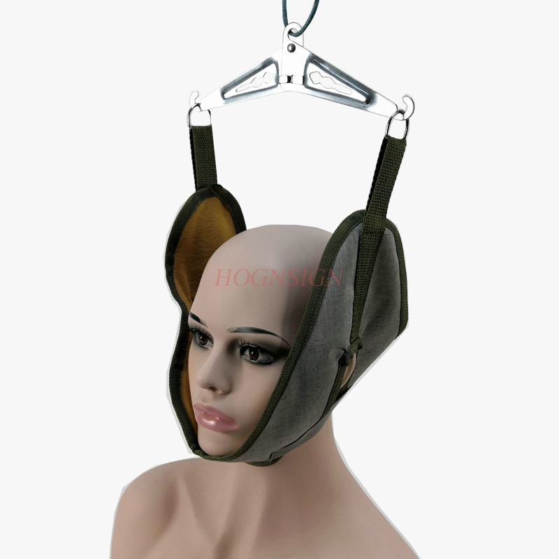 Cervical traction belt home neck stretching fixation belt correction hanging neck adult children traction headgear(China)