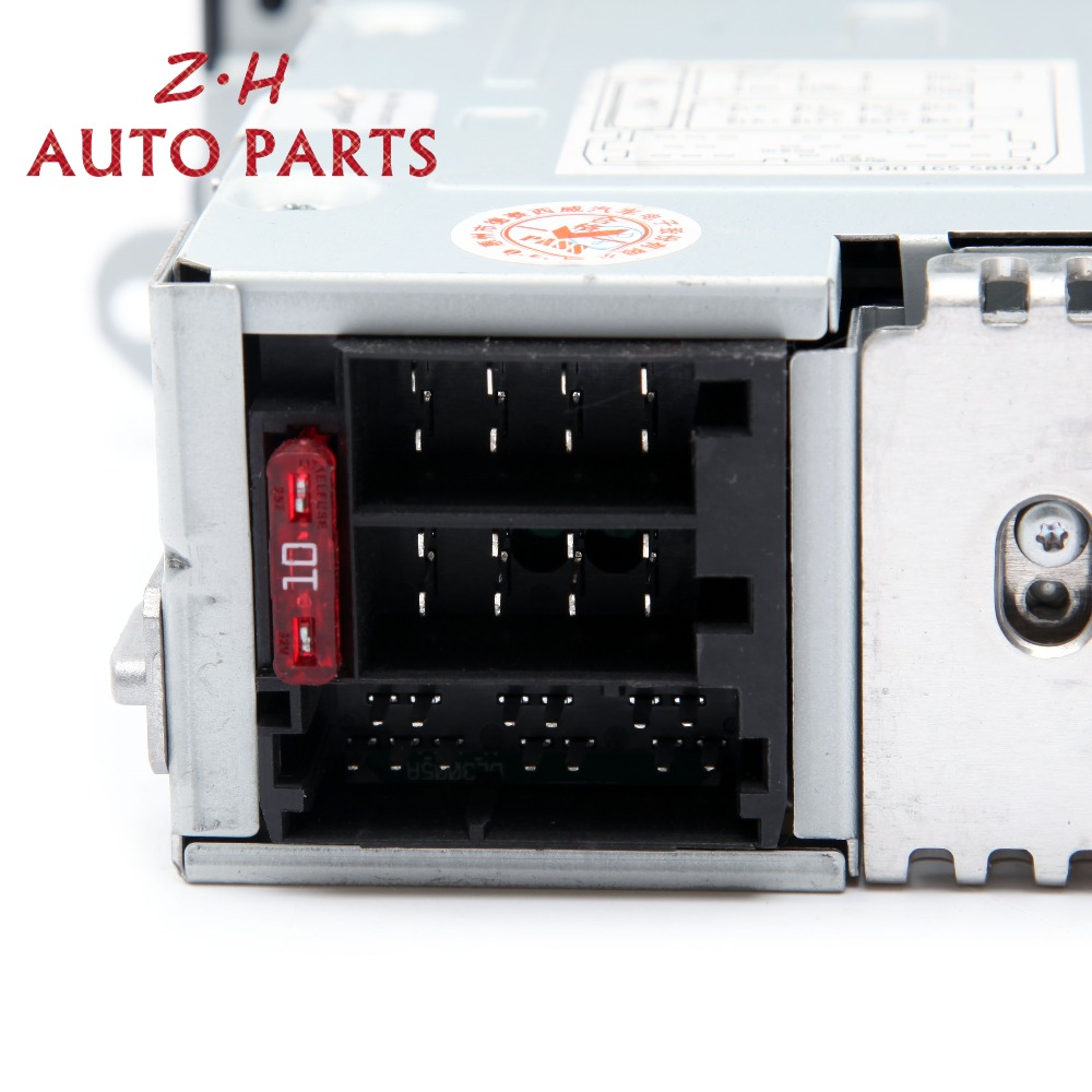 NIEUWE RCD510 Autoradio USB AUX CD SD Input MP3 Speler 3AD 035 185 Voor VW Jetta Golf MK5 MK6 passat Tiguan 3AD035185 RCD 510 - 4