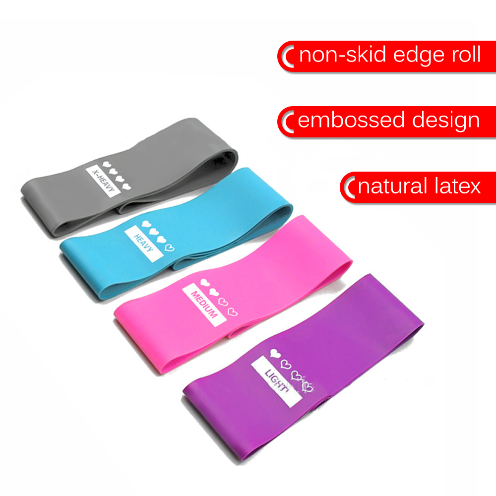 New Anti-Slip Resistance Bands Set Elastic Band For Fitness Rubber Band Yoga Exercise Gym Rubber Workout Bands For Gum Set Sport