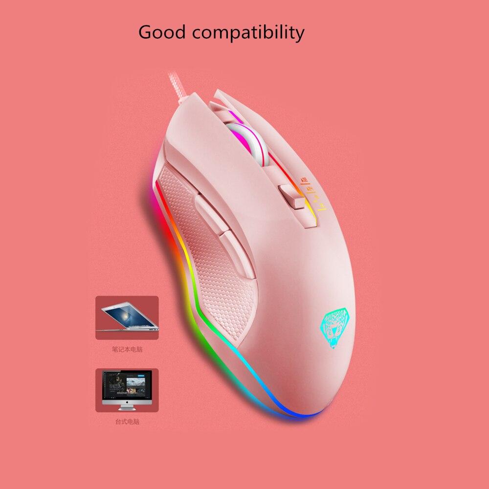 mouse 4 dpi ajustável simétrico design forma