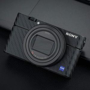 Image 2 - Anti Scratch Camera Body Skin Carbon Fiber Film Sticker Kit For Sony RX100 Mark VII VI RX100M6 RX100M7 For Cameras Decoration