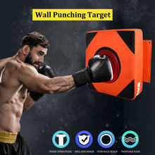 Home Fitness Wall Boxing Punching Target PU Leather Training Sandbag Sports Dummy Punching Bag Fighter Martial Arts Fitness