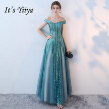 Женское вечернее платье Русалка it's yiiya Красное длинное