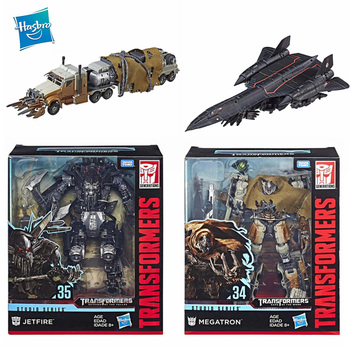 Hasbro Transformers Toy Movie Series L SS 34 35 44 Jetfire Megatron Optimus Prime Models Collection Action Figures Children Gift 1