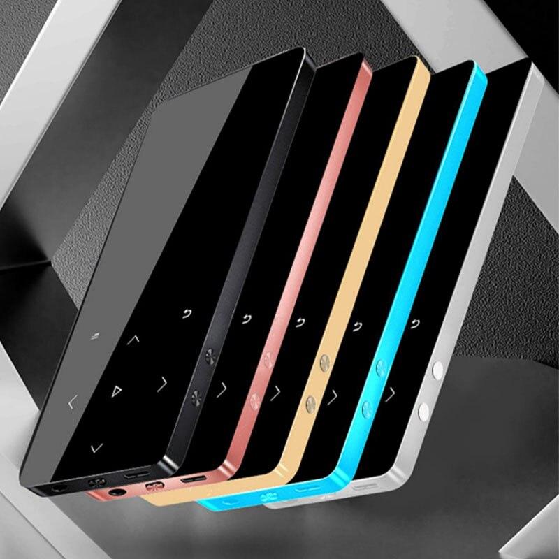 MP4 Speler Met Bluetooth Speaker Touch Key Ingebouwde 8Gb 16Gb Hifi Draagbare Walkman Met Fm Radio opname Muziekspeler 1