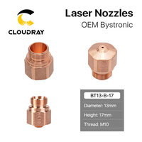 Cloudray HK08 HK10 HK12 HK15 HK17 HK20 HK25 HK30 Laser Nozzles for OEM Bystronic Fiber Laser Cutting Machine|Welding Nozzles| |  -