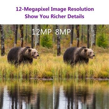 PR-200 12MP 49 шт. 940nm ИК светодиодный камера для охоты 18650 батарея камера для дикой природы ночное видение фото ловушки инфракрасный Cam инструмент...