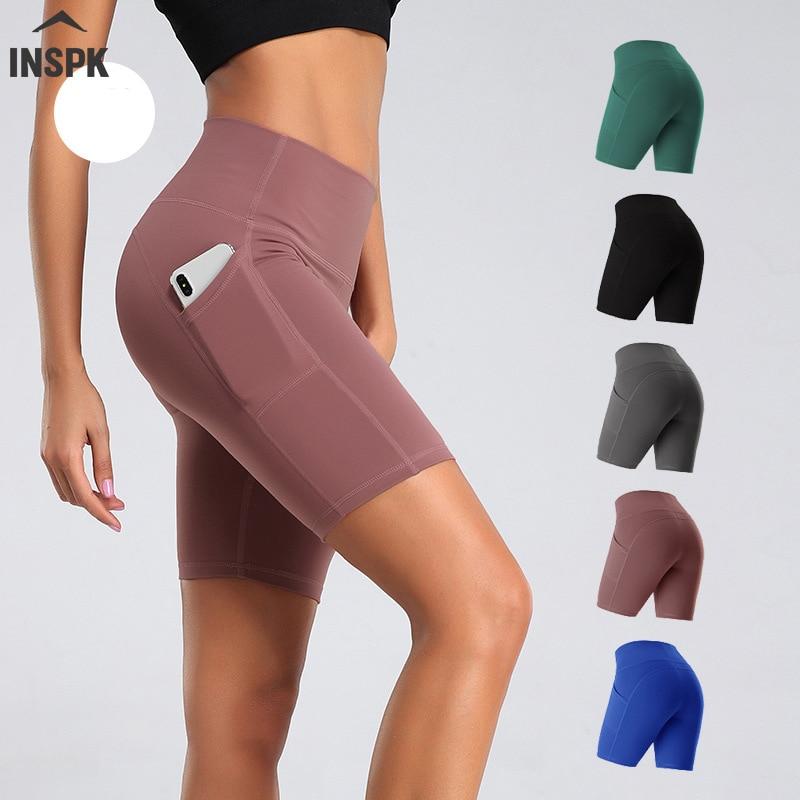 Summer Women Yoga Shorts High Waist Seamless Hip-up Tight Elastic Sport Shorts Push Up Running Fitness Gym Clothes 2020 Hot Sale