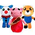 Свинья плюшевая игрушка 30 см, мягкие куклы-животные, клоун, тигра, убийца, новая свинья, плюшевые игрушки для мальчиков, плюшевые