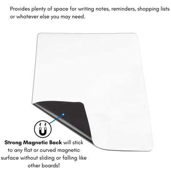 NEW A2+A3 Magnetic Whiteboard Dry Erase Fridge Sticker Office & School Supplies Message Board Soft Planner Calendar Table