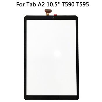 """10pcs/lot New T590 Touch Screen Replacement Part For Samsung Galaxy Tab A2 10.5"""" T595 /T590 Touch Screen Digitizer Sensor Panel"""