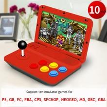 Pandora Box – mini Console d'arcade Portable rétro M15, support de jeu avec FBA SFCNGP PS1 FC SNES MD NEOGEO CPS GBA GB