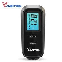 VC100 Medidor de espesor de automóviles Medidor digital de películas de pintura para probador de pintura de automóviles Medidor de espesor de película con medidor de recubrimiento de espesor de retroiluminación LCD