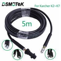 5 meters High Pressure Washer Hose Pipe Cord Car Washer Cleaning Extension Hose