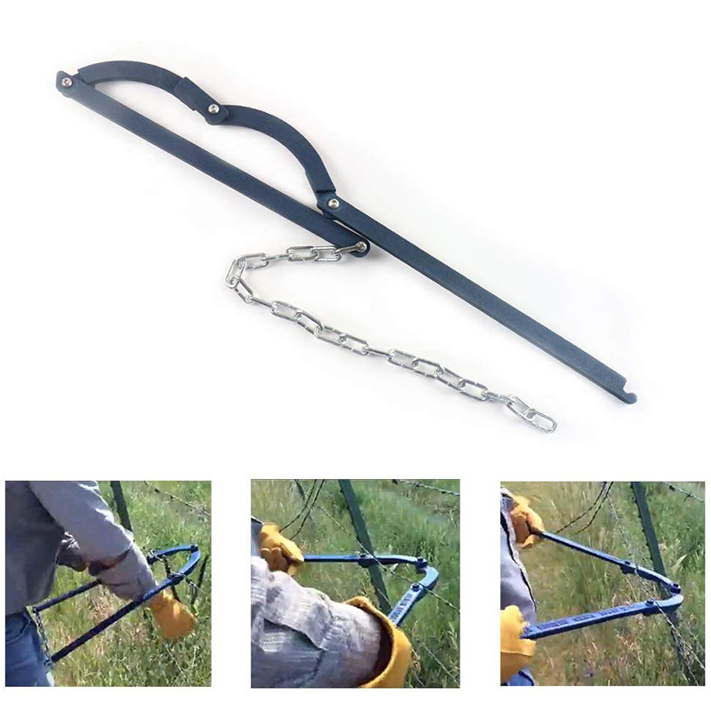 Chain Fence Strainer - Fence Fixer Wire Fence Repair Tool Farm Fence Stretcher Tensioner Puller Garden Fence Fixerfor Barbed Wir