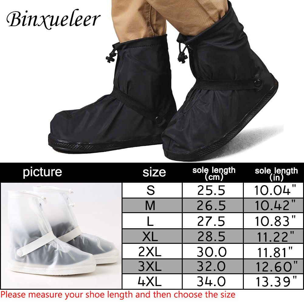 Reusable and Waterproof Shoe Protector to Cover Sneakers and Boots with Anti Slip and Wear Resistant Property Suitable for Men and Women 5