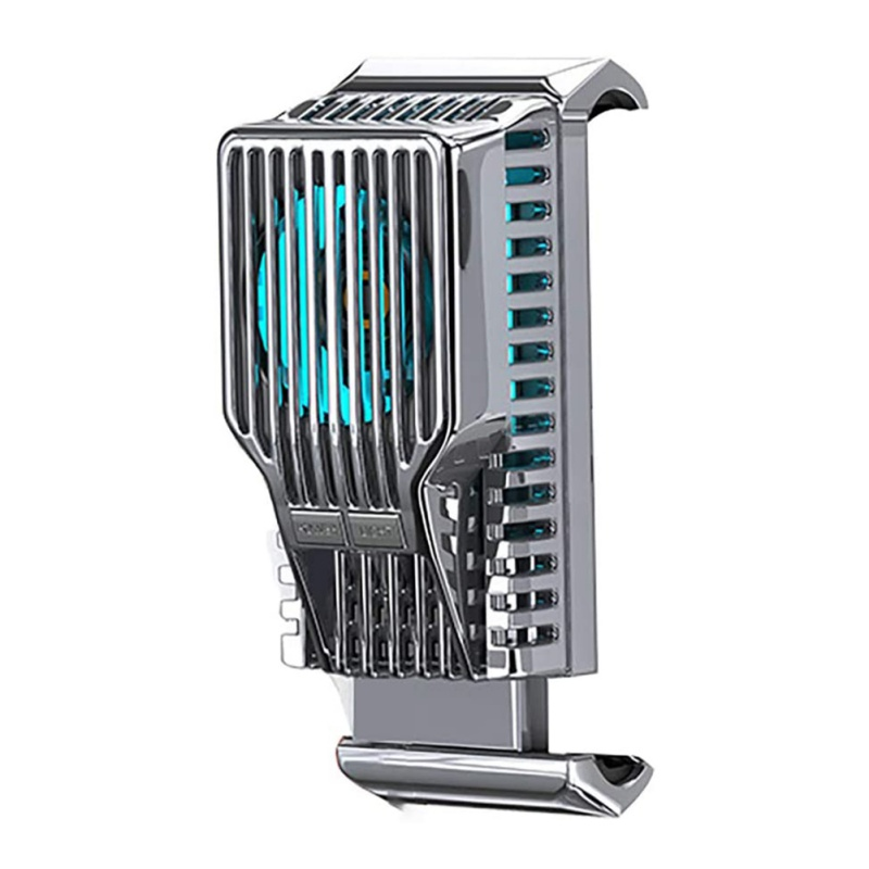Portable Cooling Fan Game Mobile Phone Cooler Game Heatsink Audio Aux Radiator For IPhone/Samsung/Xiaomi Accessories