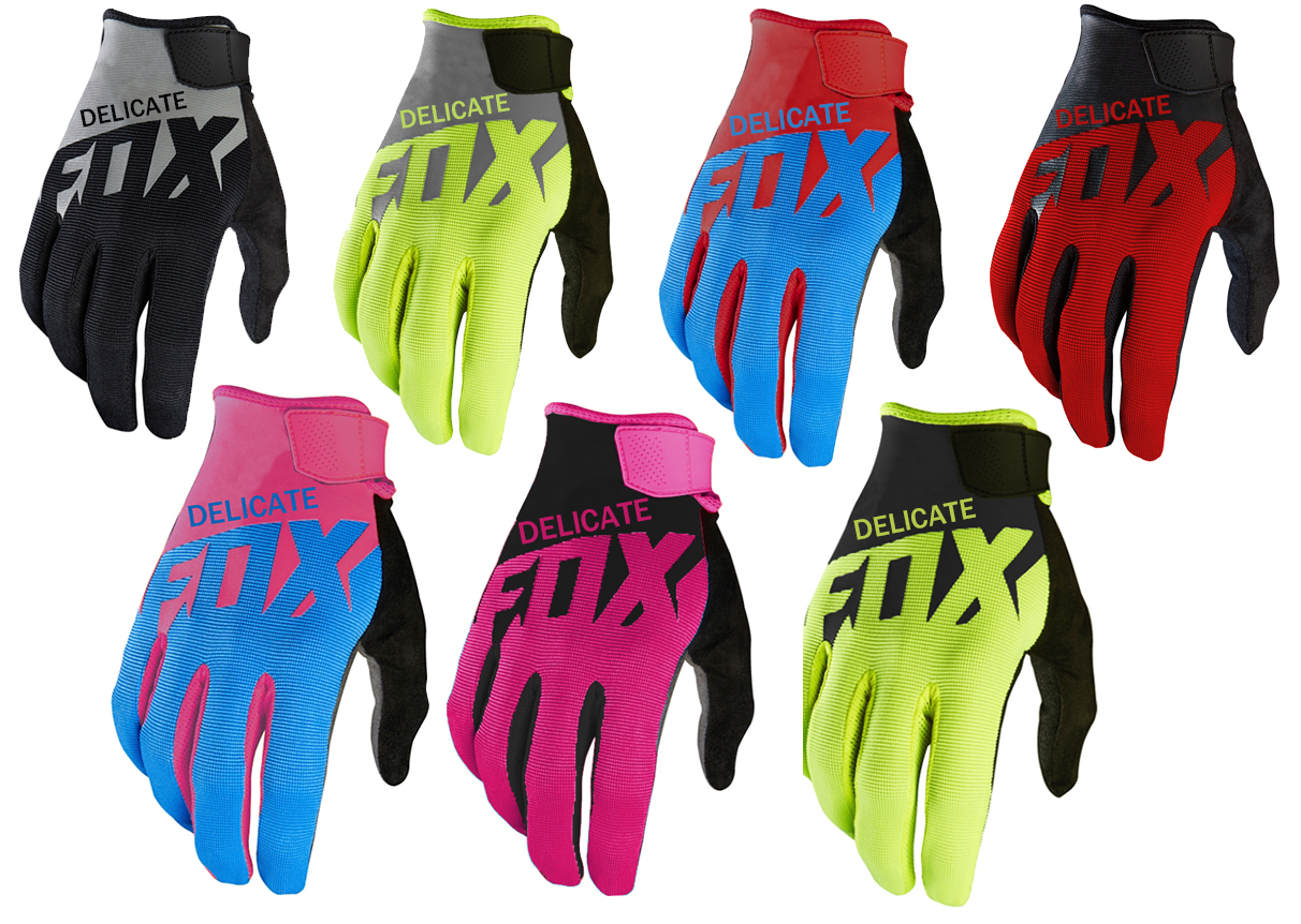 New One!MX Dirt Bike Ranger Gloves Cycling Delicate Fox Motorcycle Gloves Motocross Men's Glove