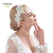 Topqueen h157 свадебные тиары и короны сверкающие головные уборы