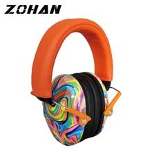 سماعات أذن للأطفال من ZOHAN بتصميم مانع للضوضاء مناسب لنوم الأطفال والمكئ على الأذن سماعات حماية لسماع الأطفال عازلة للصوت