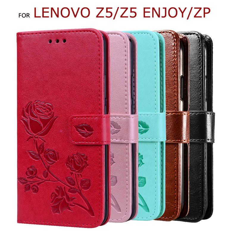Чехол с откидной крышкой для Lenovo Z5 Enjoy, чехол с подставкой для Lenovo ZP Z5, чехол из искусственной кожи с 3D рисунком, защитный чехол для телефона, чехол для телефона