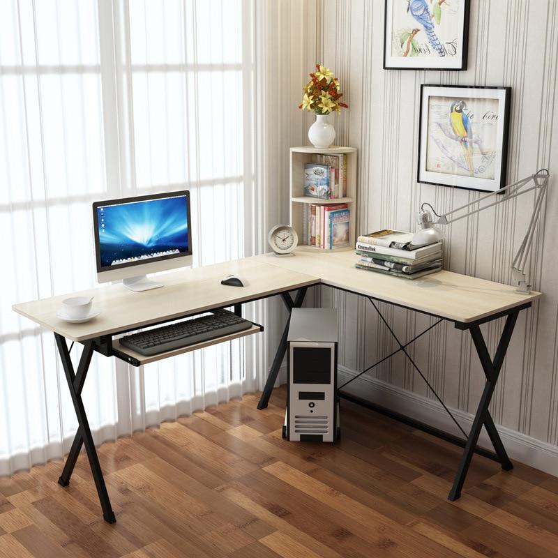 [Manufacturers Direct Selling] Home Desktop Computer Desk Office Desk Simplicity Wood Corner Computer Desk