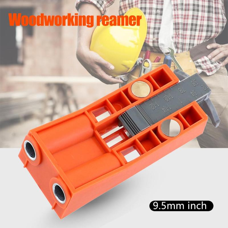 Durable Pocket Hole Jig Set Wear-resistant Woodworking Hole Puncher Drilling Fixture Wood Drill Guide Jig Magnetic Locator