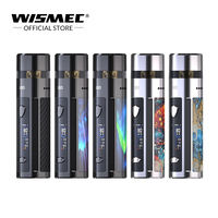 Original 80W Wismec R80 kit 4ml Cartridge use Single 18650 battery 0.3ohm Mesh and 0.8ohm Nicr Coil Electronic Cigarette