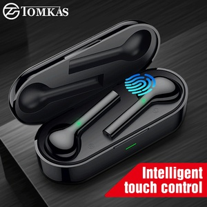 Image 1 - TOMKAS Mini TWS Bluetooth Wireless Earphone Headphones Freebud Waterproof Sport Headsets With Dual Mic For Mobile Phone Flypods