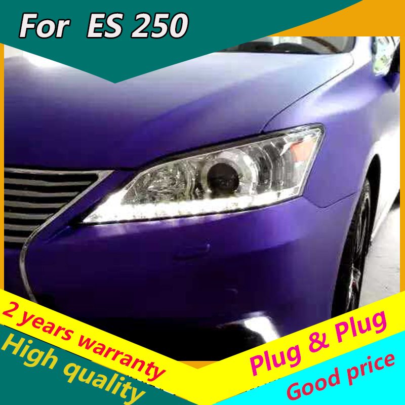 KOWELL Car Styling for head lamp For <font><b>Lexus</b></font> ES <font><b>250</b></font> for ES 300 For ES 350 Led headlight 2008 2009 <font><b>2010</b></font> 2011 2012 2013 2014 image