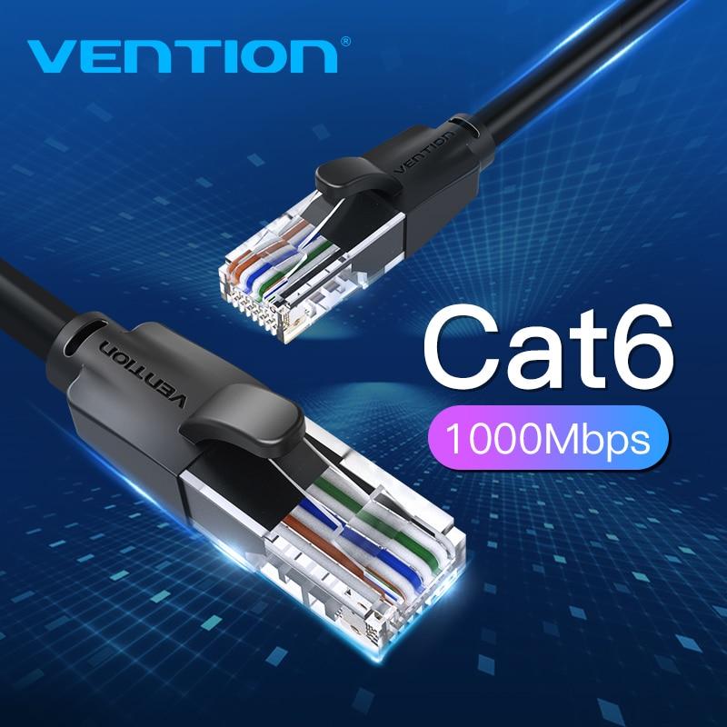 Cabo de remendo da rede de utp rj45 do cabo cat6 lan de vention ethernet 10m 15m para o roteador do modem do computador do ps pc cat 6 ethernet do cabo