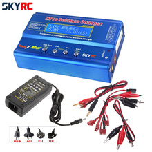 1pcs 100% Original SKYRC IMAX B6 Digital RC Lipo NiMh Battery Balance Charger With 12v 5A AC POWER Adapter(EU/US/UK/AU plug)