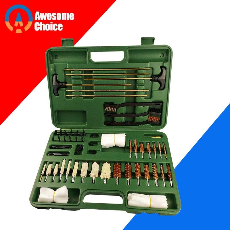 59 Pcs Universal Gun Cleaning Kit For Rifle Pistol Handgun Shotgun Professional Gun Cleaning Set Gun Brush Tool For Hunting