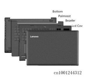 Image 1 - Оригинальный чехол для Lenovo ideapad 320 15 320 15IKB ISK 330 15 330 15ICN, задняя крышка ЖК дисплея/ободок/подставка/Нижняя основа